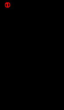 電動機の始動制御回路1