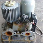 水中ポンプモーターの修理