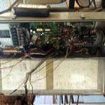 ホイスト制御盤の電気改造