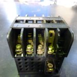 溶着した電磁接触器