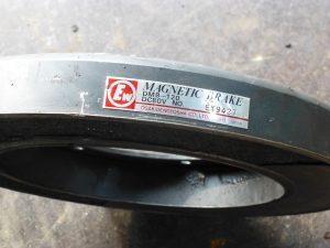 大崎電業社の電磁ブレーキ