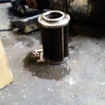 油圧のラインフィルタ