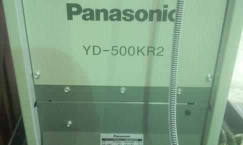 パナソニックのサイリスタ制御CO2溶接機1