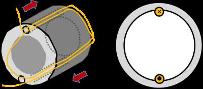 交流モーターの回転原理の説明