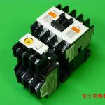 富士電機の電磁開閉器の写真