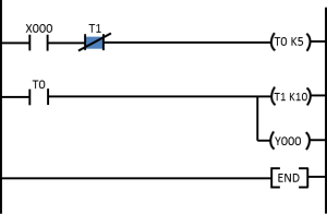 PLCのフリッカー回路1